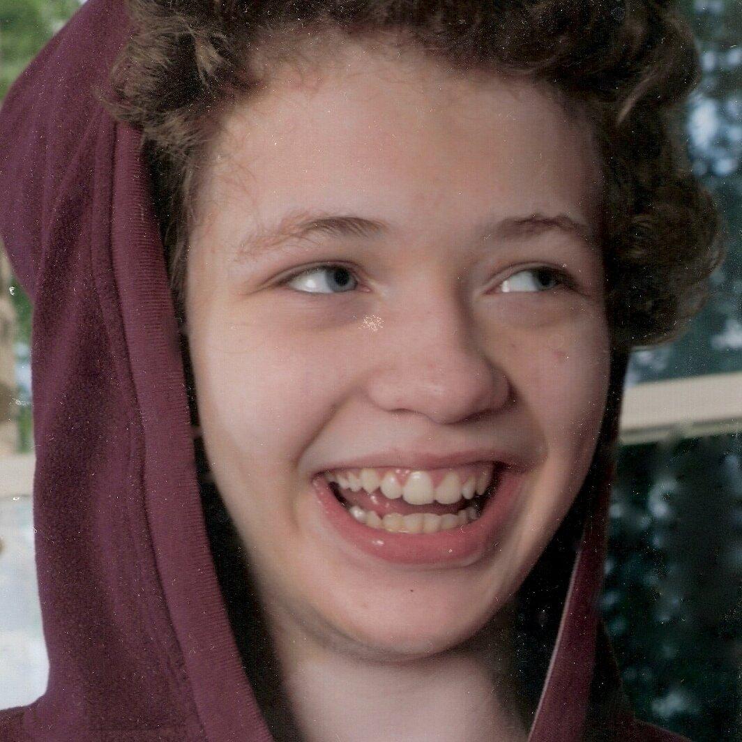 Josie, smiling
