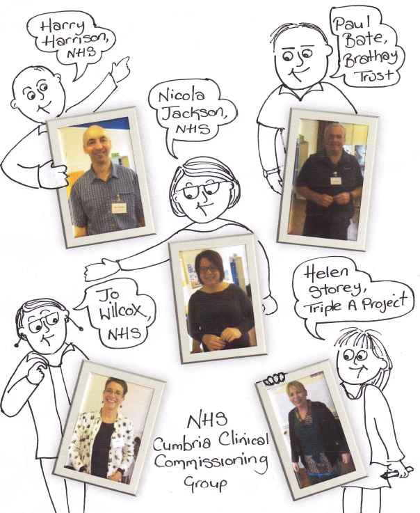 Members of the Cumbria Clinical Commissioning Group